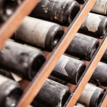 Wine Aging in Cellar