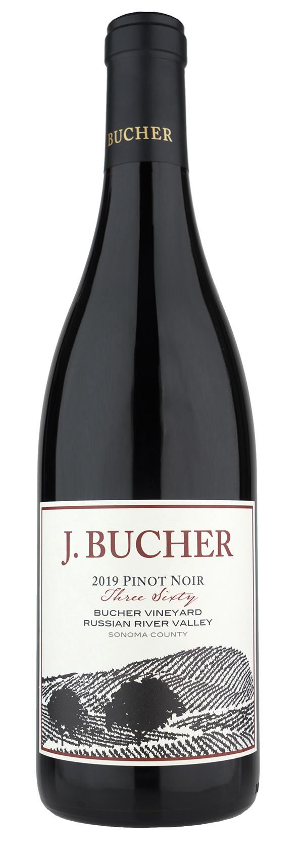 2019 Pinot Noir Three Sixty Bucher Vineyard Russian River Valley