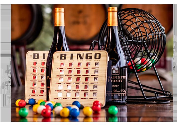 Wine & Bingo Night