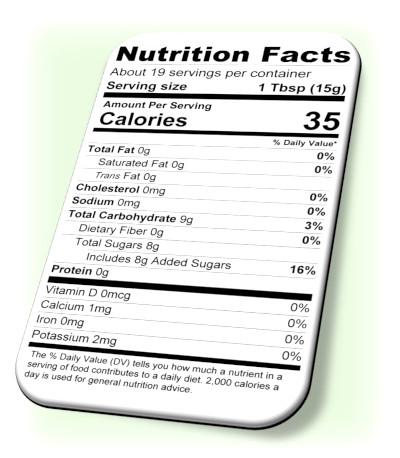 Nutrition Balsamic Jam
