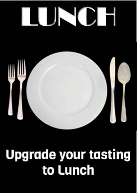 Option - Add Lunch to a Tasting