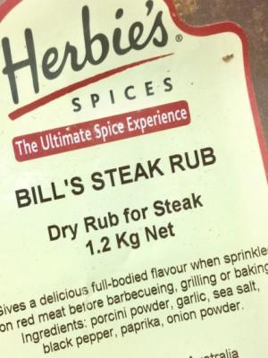 Bill's Steak Rub