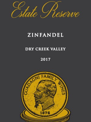 2017 Estate Reserve Zinfandel