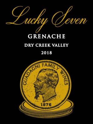 2018 Lucky Seven Grenache