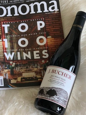 2017 Pinot Noir Pommard Clone Bucher Vineyard Russian River Valley