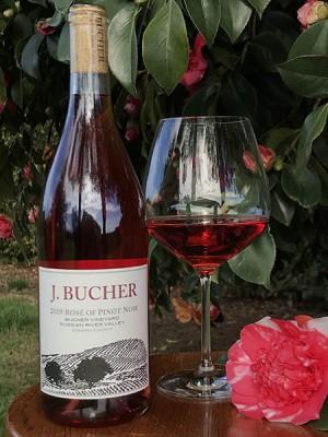 2019 Rose of Pinot Noir Bucher Vineyard Russian River Valley