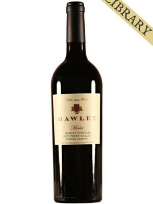 2013 Estate Merlot, Hawley Vineyard -Club Exclusive-