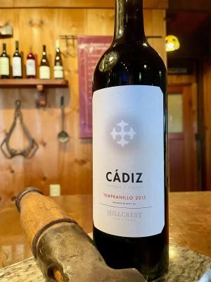 2015  Cádiz Tempranillo