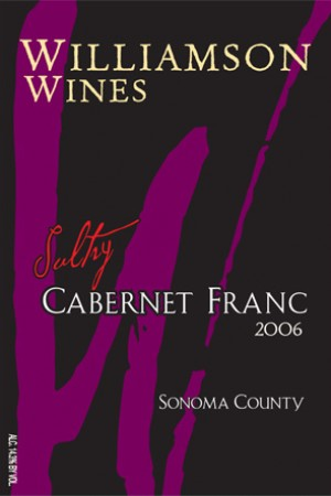 Sultry Cabernet Franc 2006