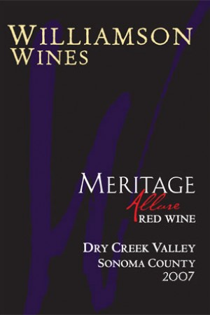 Allure Meritage 2007 - Half Bottle