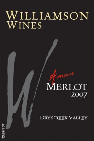 Amour Merlot 2007 - Half Bottle