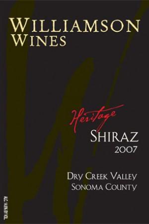 Heritage Shiraz 2007 - Half Bottle