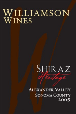 Heritage Shiraz 2005 - Half Bottle