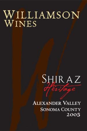 Heritage Shiraz 2005