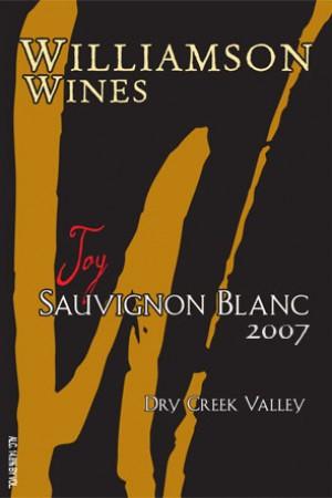 Joy Sauvignon Blanc 2007