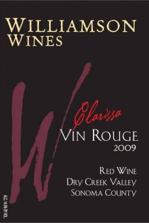 Clarissa Vin Rouge 2009