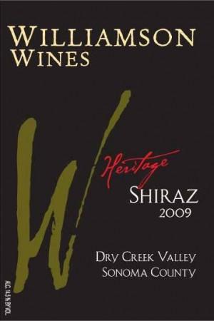 Heritage Shiraz 2009