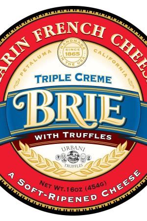 Triple Crème Brie with Truffles