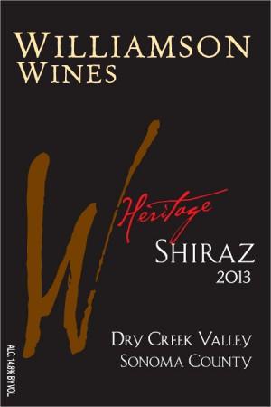 Heritage Shiraz 2013