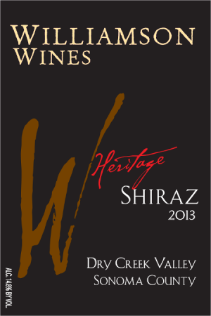 Heritage Shiraz 2013 - Half Bottle