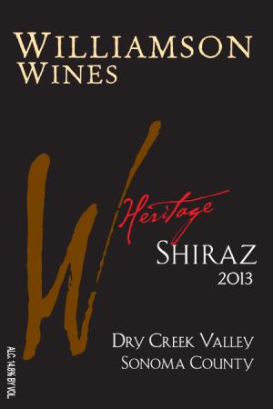 Heritage Shiraz 2013 - Half Bottle