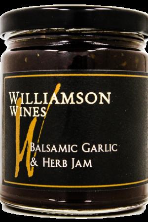 Balsamic, Garlic & Herb Jam