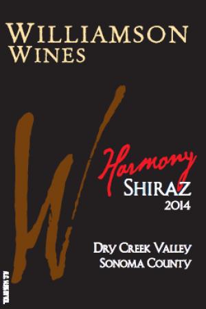 Harmony Shiraz 2014