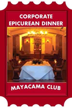 Dinner at Mayacama
