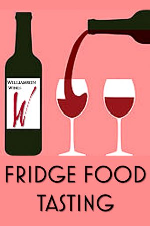 Fridge Food Wine Tasting