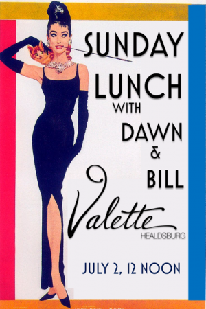Sunday Lunch at Valette - July 2