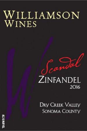Scandal Zinfandel 2016