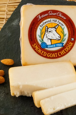 Redwood Hill Smoked Goat Cheddar
