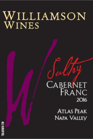 Sultry Cabernet Franc 2016