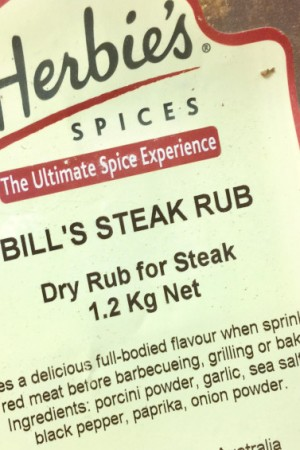 Bill's Steak Rub