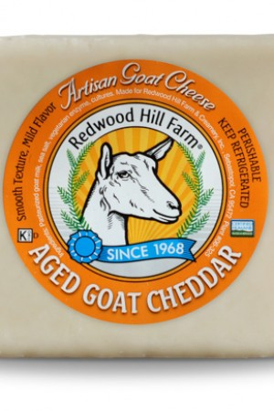 Redwood Hill - Aged Goat Cheddar