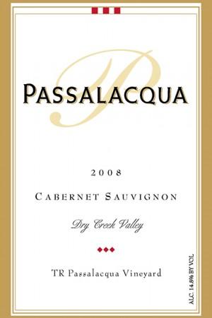2008 TR Passalacqua Vineyard Cabernet Sauvignon, Block 2