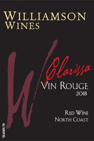 Clarissa Vin Rouge 2018