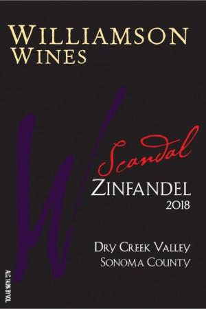 Scandal Zinfandel 2018
