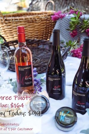 Three Pinots