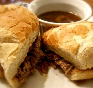 Elate French Dip & Garlic Au Jus