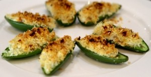 Oven Roasted Jalapeno Poppers