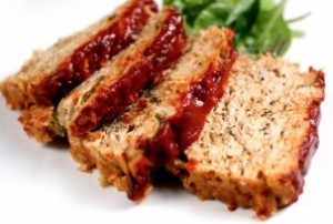 Turkey Meatloaf with Cinnamon Clove Tomato Sauce