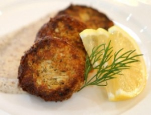 Crab Cakes with Sumac Aioli
