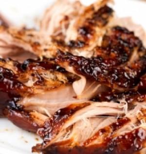 Balsamic Garlic Pork Tenderloin