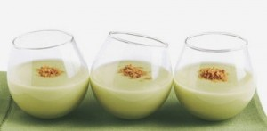 Avocado & Truffle Salt Soup Shots