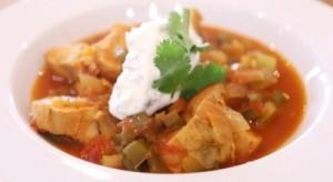 Spanish Chicken & Rice Soup