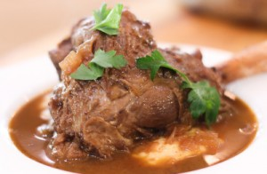 Lamb Shanks with Porcini Mushrooms
