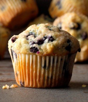 Dee's Amstralian Blueberry Muffins