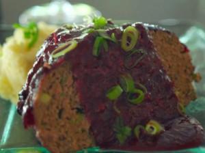 Cranberry Glazed Meatloaf