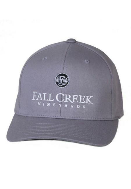 Fall Creek <br>FlexFit Grey Baseball Hat <br>-L/XL